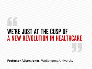 We're just at the cusp of a new revolution in healthcare