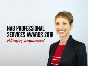 NAB Professional Services Awards 2018